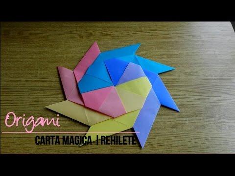 Tutorial Origami Rehilete Estrella Magica Que Se Transforma