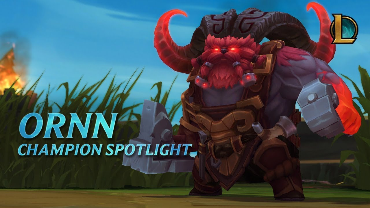 Ornn Champion Spotlight | Gameplay - League of Legends
