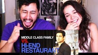 MIDDLE CLASS RESTAURANT PROBLEMS | KENNY SEBASTIAN | Reaction w/ Natalia!