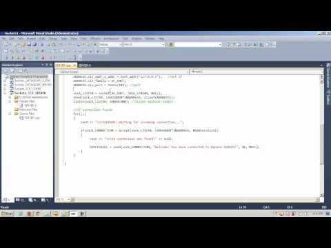 C++ Socket Programming - Introduction - Part 2 of 2