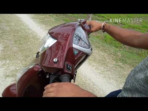How to turn a scooty properly first time