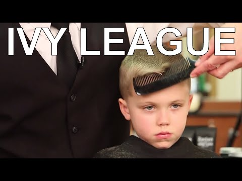 How To Cut and Style a Children's Ivy League Haircut - Greg Zorian Haircut Tutorial