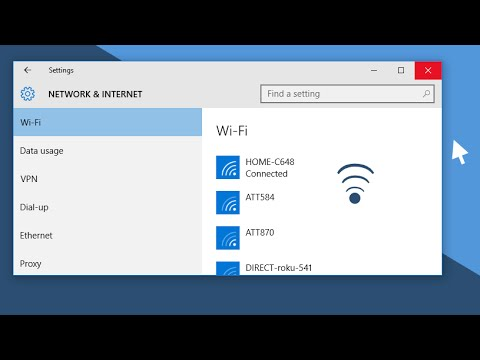 Forget or Remove a Wireless Network on Windows 10 │How-To