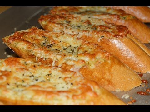 Pesto Garlic Bread Recipe - Make It Easy Recipes