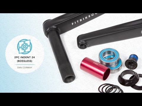 INTRODUCING: 2PC INDENT 24 (BOSSLESS) CRANKS