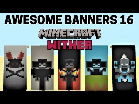 ✔ 5 AWESOME MINECRAFT BANNER DESIGNS WITH TUTORIAL! #16