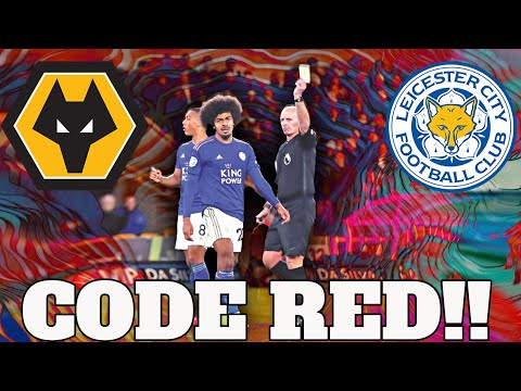 Hamza Choudhury Red Card vs Wolves | Wolves vs Leicester Reaction