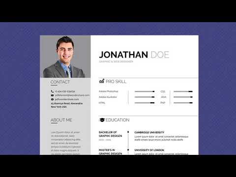 Free Professional Resume Template - Business Basic Lite