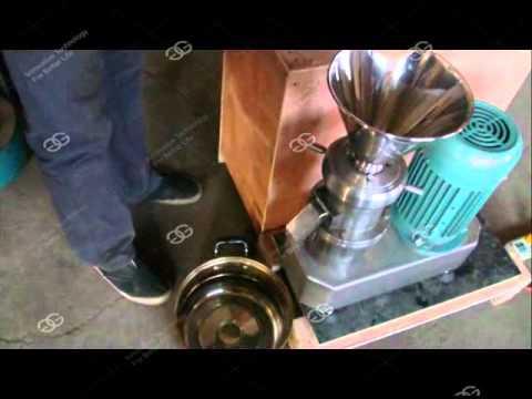 Sesame Seed Tahini Grinder Machine|Almond Butter Maker Machine|Peanut Paste Grinding Machine