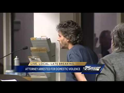 Attorney accused of domestic violence