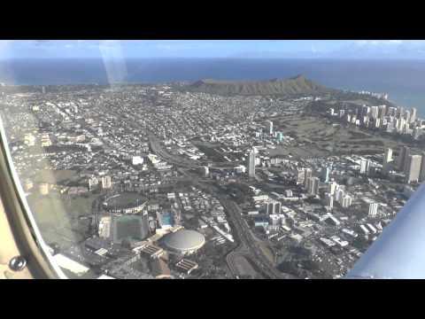 Flying Video - PHNL Freeway 4 Departure Honolulu HI - Maui to Molokai