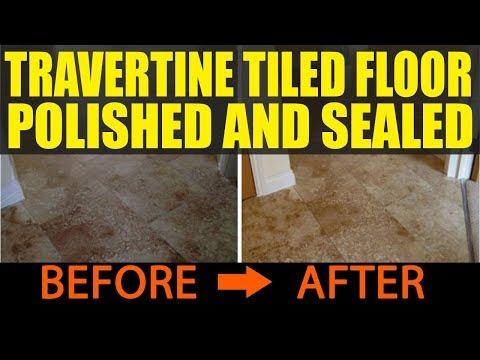 Travertine Tile Polishing East Sussex