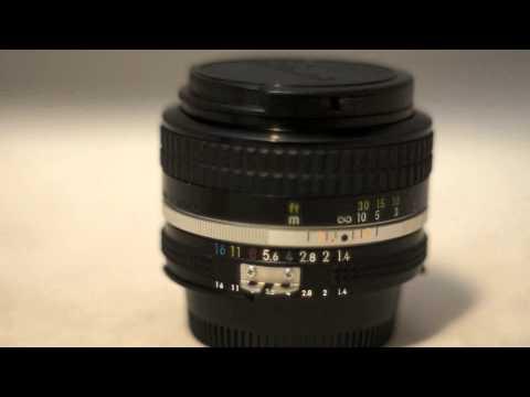 Nikon Nikkor 50mm F1.4 AI Vintage Manual Focus Prime Lens Review