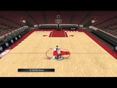 NBA 2k12: How to dunk from free throw line