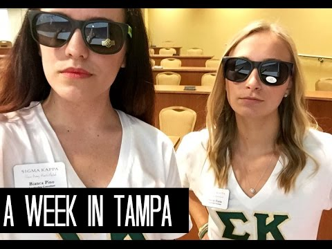 A Week in University of South Florida  | Life As Binx