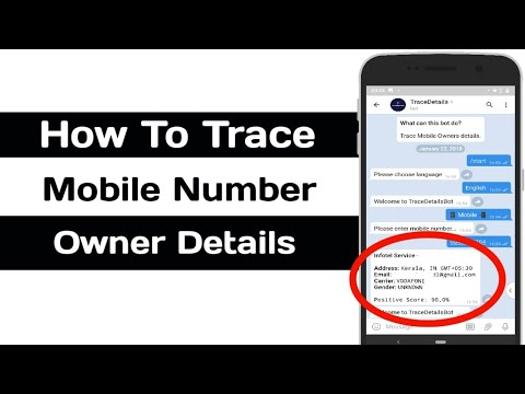 How To Trace Mobile Number Owner Details [Telegram] [Bot]