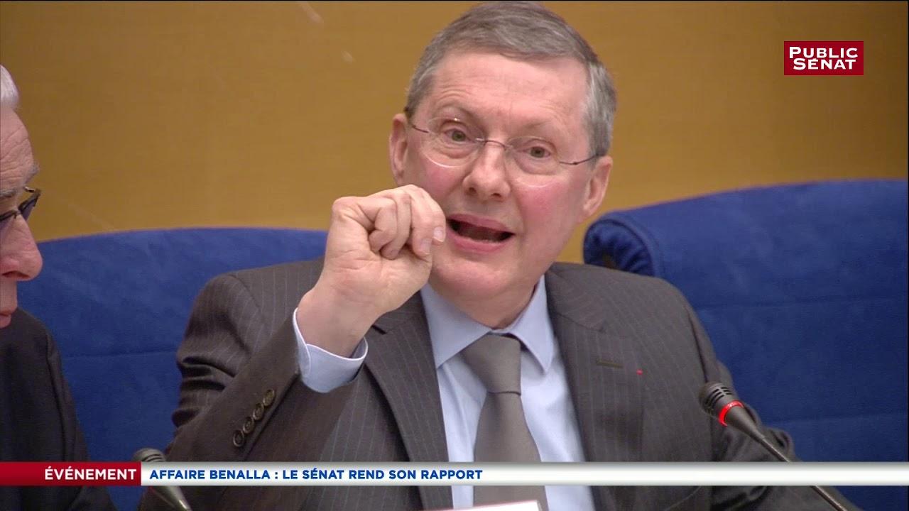 Affaire Benalla: le rapport du Sénat