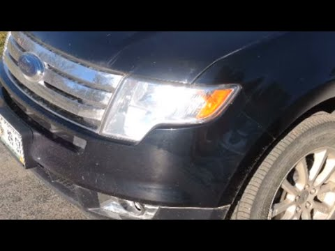 2010 ford edge bulb and socket replacement