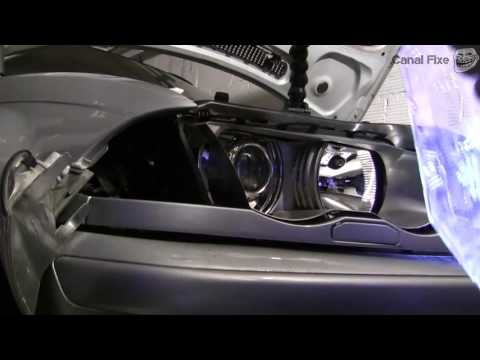 How to change BMW E46 headlight cover [HD Quality]