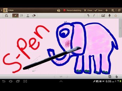Galaxy Note 10.1 S Pen - LOVE IT!