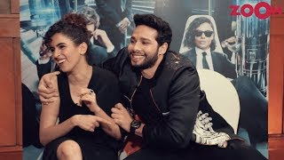 Siddhant Chaturvedi & Sanya Malhotra on their experience with 'Men in Black: International'