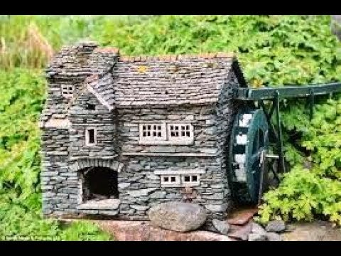 Stunning Miniature Stone Houses To Beauty Your Garden