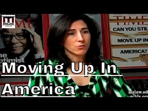 Rana Foroohar: Moving Up In America, Is It Still Possible?