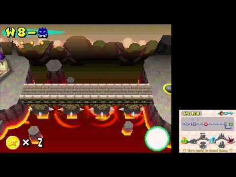 New Super Mario Bros. (DS) Any% Speed Run (23:41)