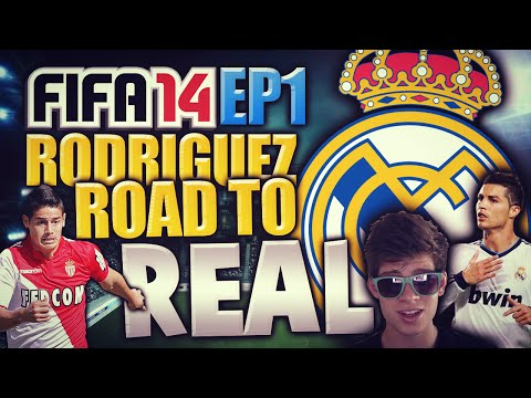 Rodriguez Road to Real! #1 - Fifa 14 Ultimate Team Series! (James Rodriguez Fifa 14)