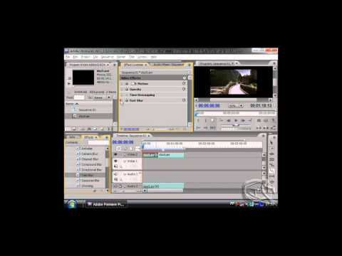 apply of video effect