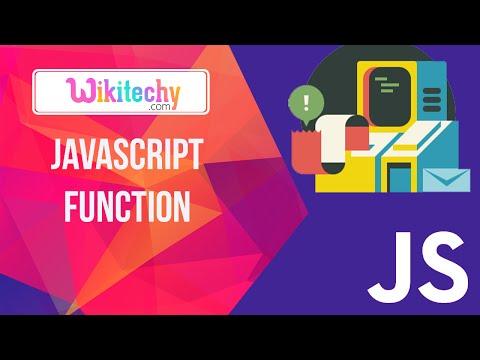 JavaScript Functions |  javascript | function | String | javascript events | Wikitechy.com