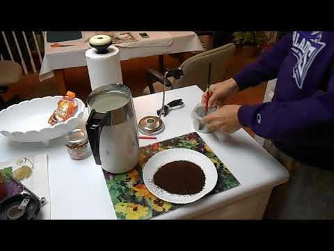 How to brew delicious coffee in a Corningware Electric Percolator