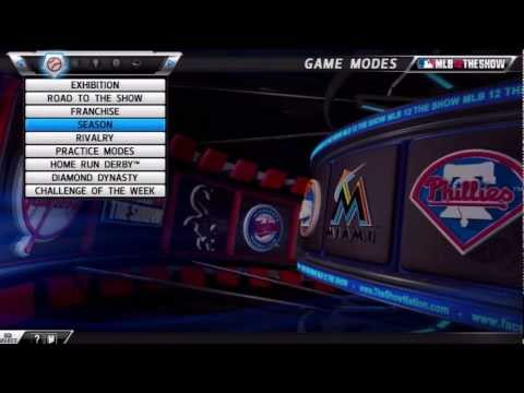 MLB 12 The Show | How To Create Rosters (YouTube All-Stars)