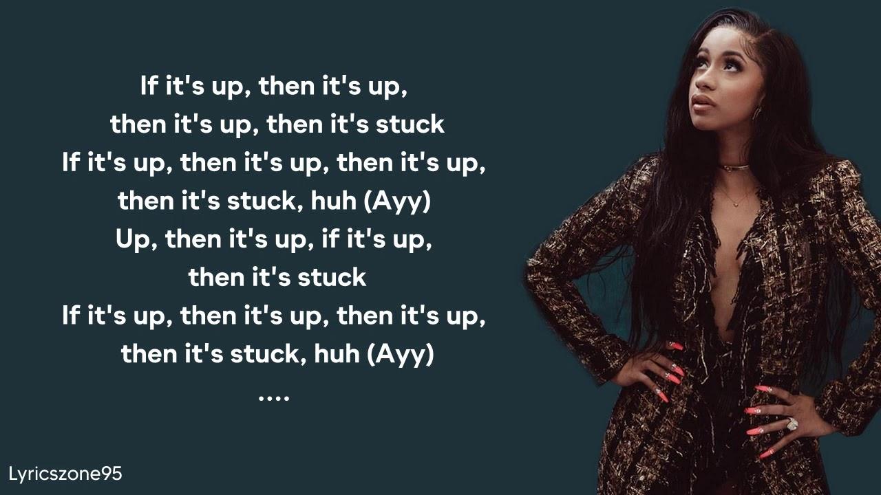 Up - Cardi B (Lyrics)