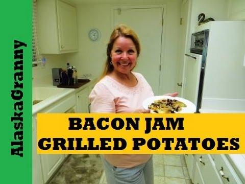 Bacon Jam Potato Foil Packets