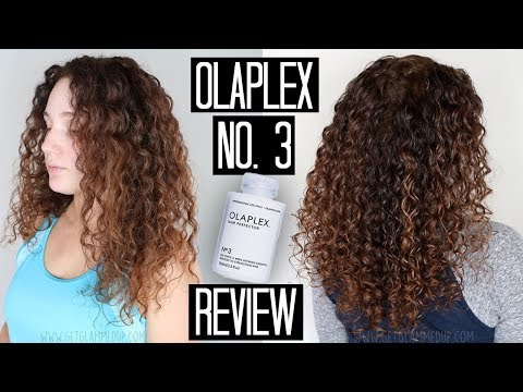 Trying Olaplex No. 3 on Damaged Curly Hair | Does it Really Work?