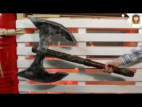 Making a Viking Battle Axe