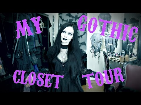My Gothic Closet Tour 2017 || ReeRee Phillips