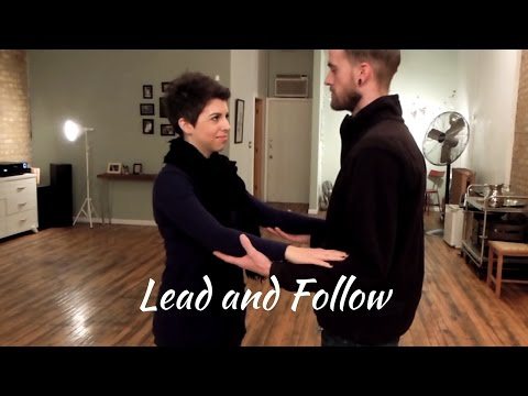 Ballroom Dance Tutoriol: Leading and Following