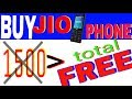 How to buy jio feature phone for free.Jio phone free for all over India India. BUY NOW