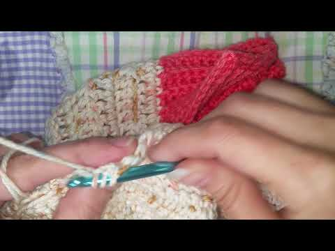 Linked Double Crochet 2 Together Decrease (Ldc2tog)