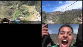 Barrrancas del Cobre - Tirolesa / Copper Canyon Zip lines. one of the longest in the WORLD.
