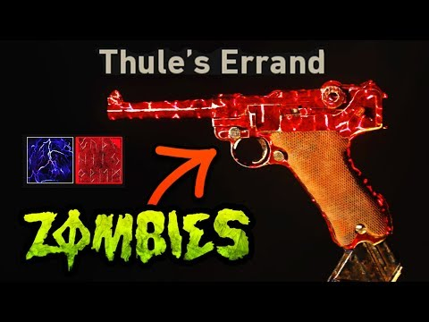 SECRET EASTER EGG ZOMBIES CAMO (FULL GUIDE) IS A SUPER EASTER EGG? (Shadowed Throne WW2 Zombies)