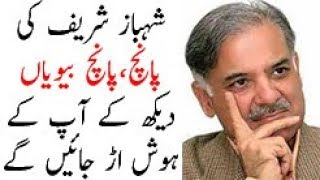 Five wives of shehbaz sharif