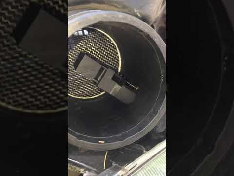 Clean MAF mass air flow sensor
