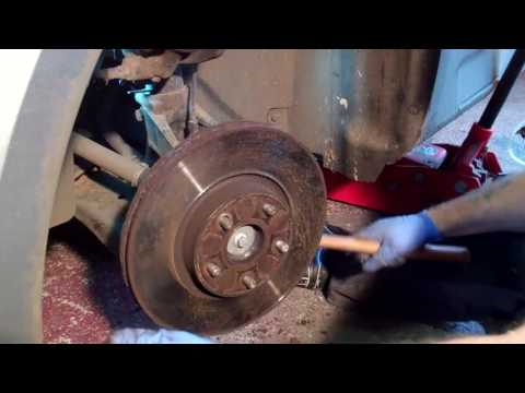 New front brake discs & pads - Ford Mondeo Mk4 (2007 - onwards)