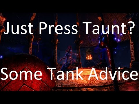 [ESO] Tanking Tips - Some General Advice