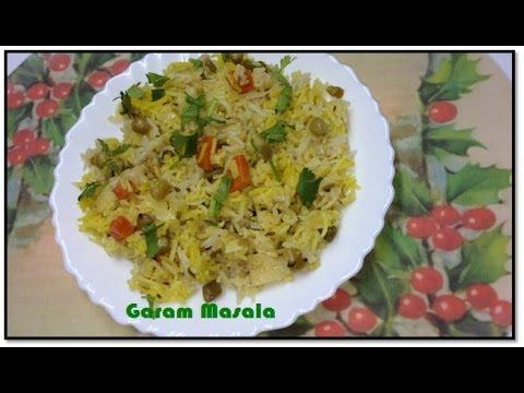 Vegetable Pulao by Garam Masala