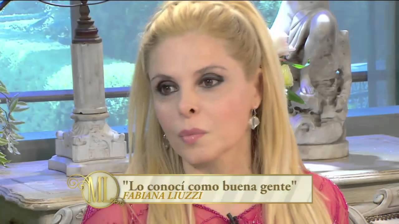 """Almorzando con Mirtha Legrand 2014 - Fabiana Liuzzi sobre Ventura: """"Mi relación duró más de un año"""""""