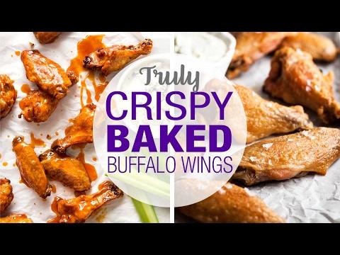 Truly Crispy Oven Baked Buffalo Wings